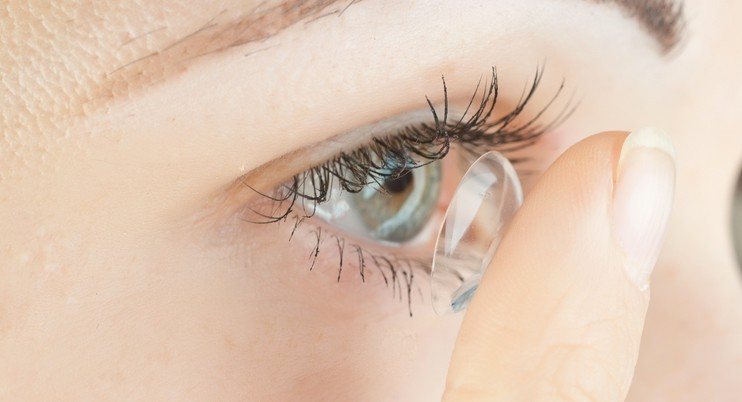 Verres de contact et troubles de la vue